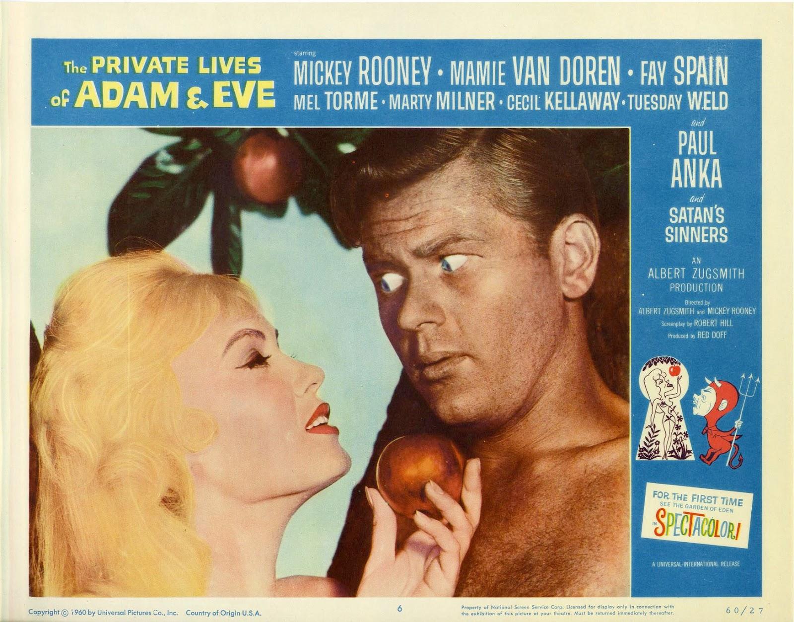 go retro movie review the private lives of adam and eve 1960