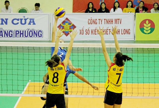 Nam TPHCM và nữ VTV Bình Điền Long An vào chung kết