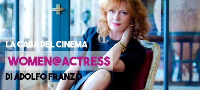 Prorogata fino al 17 settembre Women@Actress, 70 scatti di Adolfo Franzò - Susan Sarandon