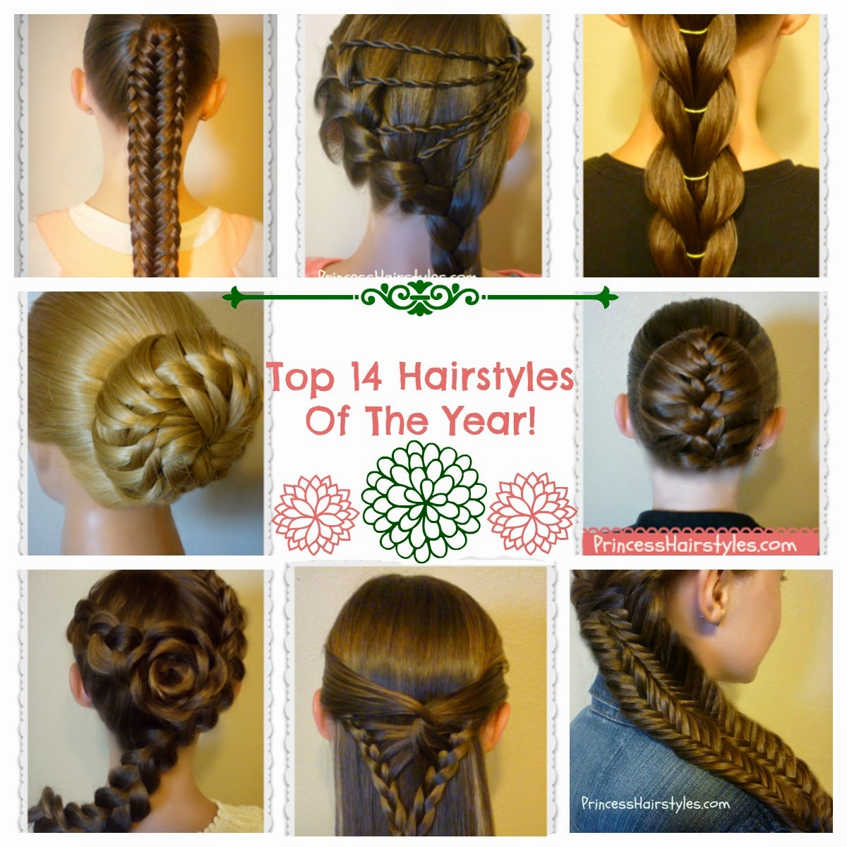 Magnificent Top Hairstyles Of 2014 Hairstyles For Girls Princess Hairstyles Short Hairstyles Gunalazisus