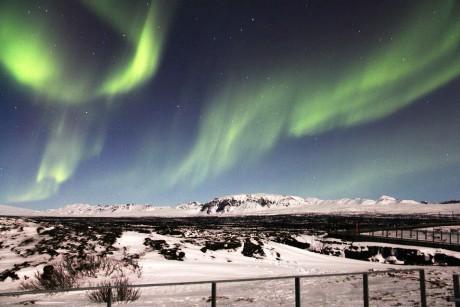 Aurora boreale Reykjavik