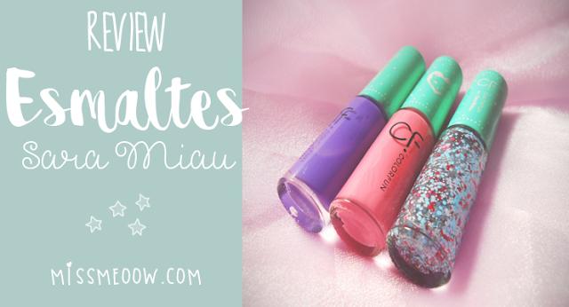 Esmaltes para uñas: Sara Miau