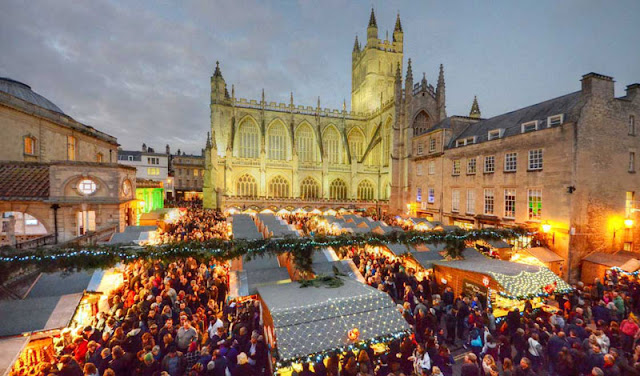 Bath at Christmas