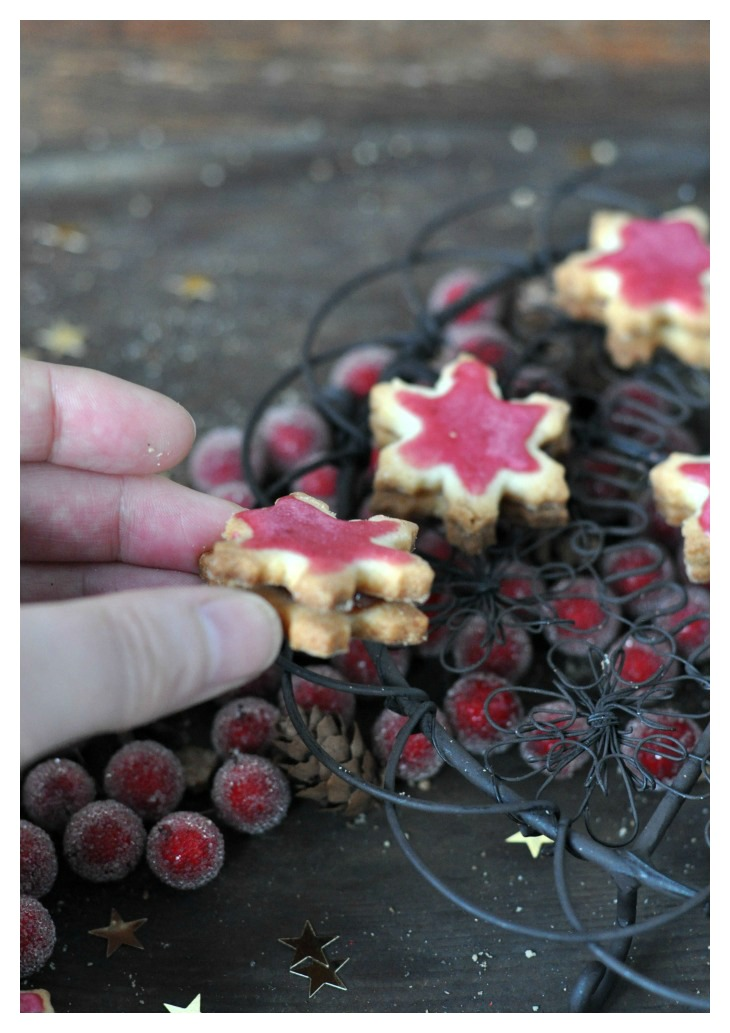 Red Currant Cookies, a gluten free treat for christmas