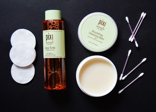 Pixi Nourishing Cleansing Balm and Pixi Glow Tonic Skincare Review