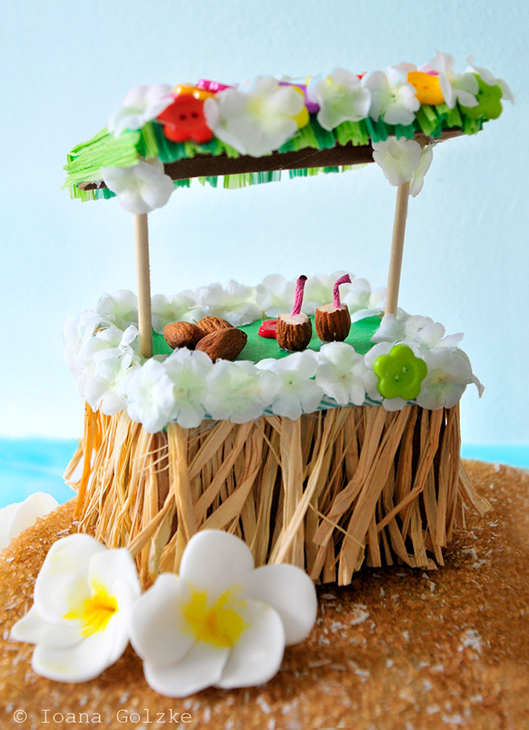 Miss red fox aloha hawaii birthday party for Kuchen selbst gebaut