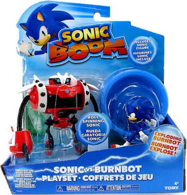 TOYS : JUGUETES - SONIC BOOM Playset Batalla : Sonic vs. Burnbot Playset Producto Oficial 2016 | Bizak - TOMY 2016 | Edad: +4 Comprar en Amazon España & buy Amazon USA