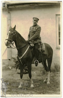 Piłsudski na Kasztance - 1926