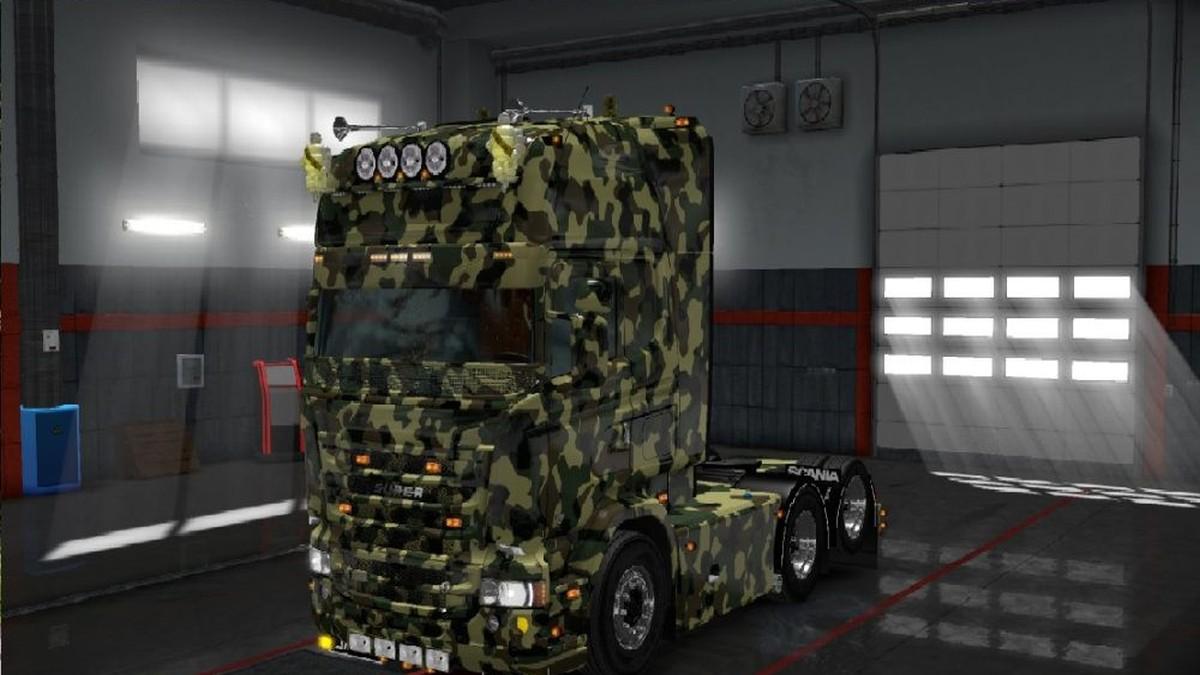 Scania RJL Camo Skin