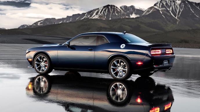 Wallpaper: Dodge Challenger SRT Hellcat 2015