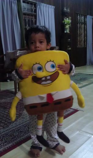 Wafiq dan Spongebob