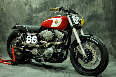 "Harley Davidson Dyna Superglide ""Gabrielle"" by XTR Pepo"