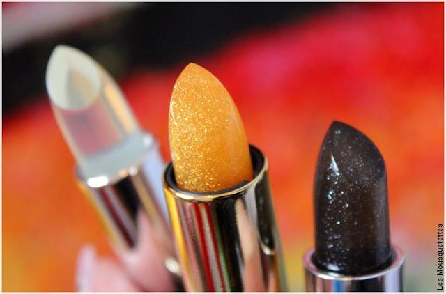 Les baumes à lèvres or, diamant et acide hyaluronique de Incarose - Blog beauté