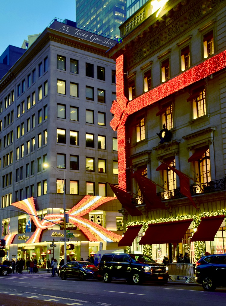 Cartier: One of 10 Must- See Holiday Sights in Midtown, New York City | Ms. Toody Goo Shoes