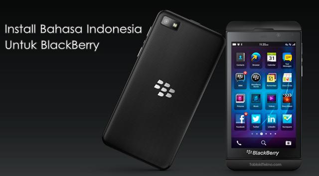 Cara-Install-Bahasa-Indonesia BlackBerry