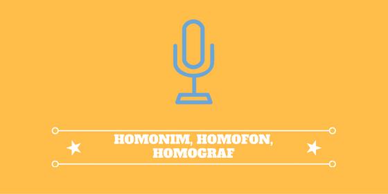 Homonim Homofon Dan Homograf De Eka