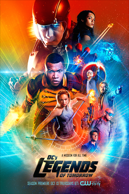 DC Comics' Legends of Tomorrow Season 2 Television Poster