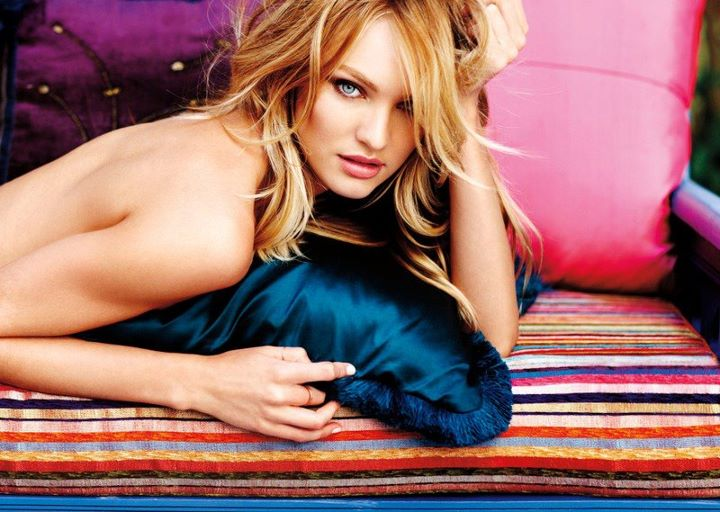 Candice Swanepoel By Russell James Pinkfineart 1