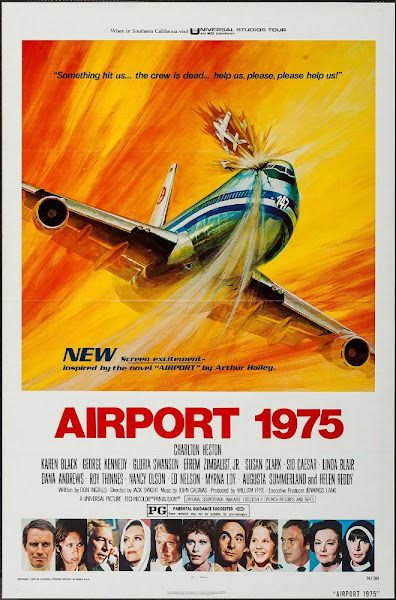 Poster Of Airport 1975 (1974) English 720p BRRip Full Movie Download