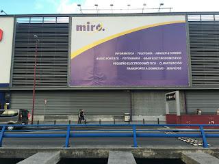 La tienda de Miró en Megapark, ya cerrada