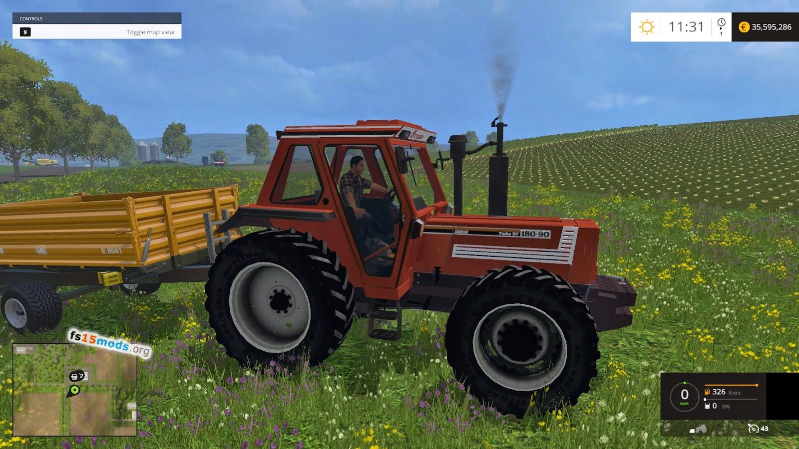 Fiatagri 180 90 Tractor Fs15 Mods