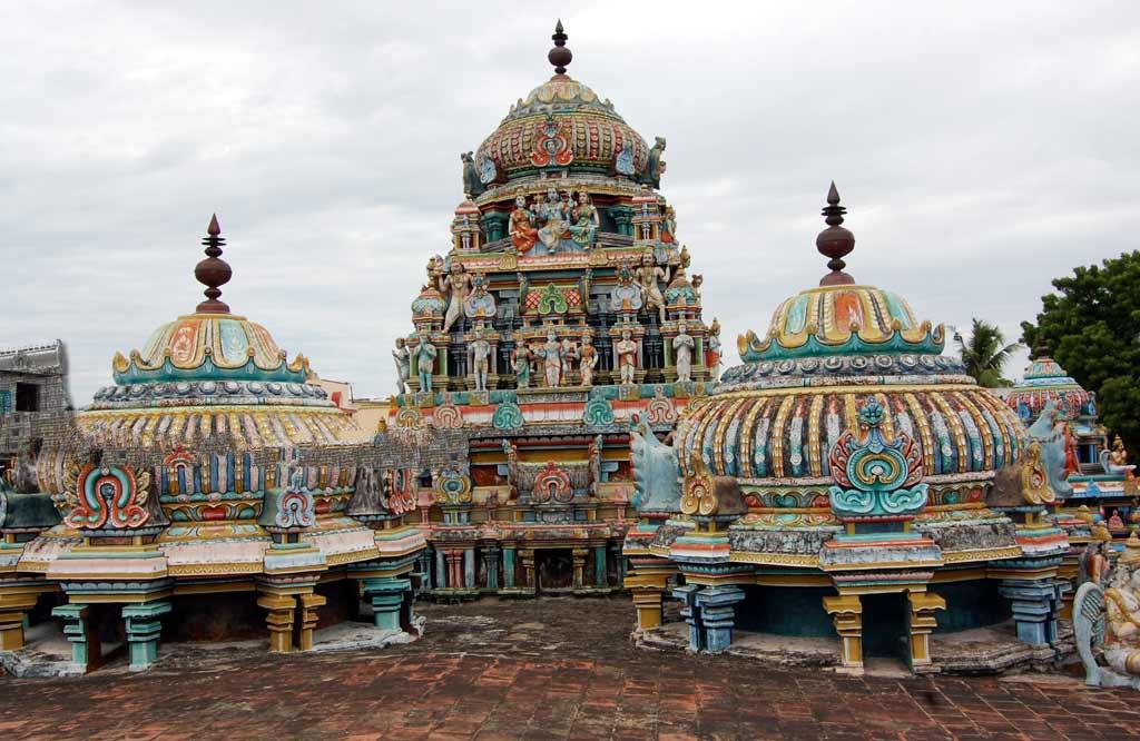 Sri Brahma Temple Towers