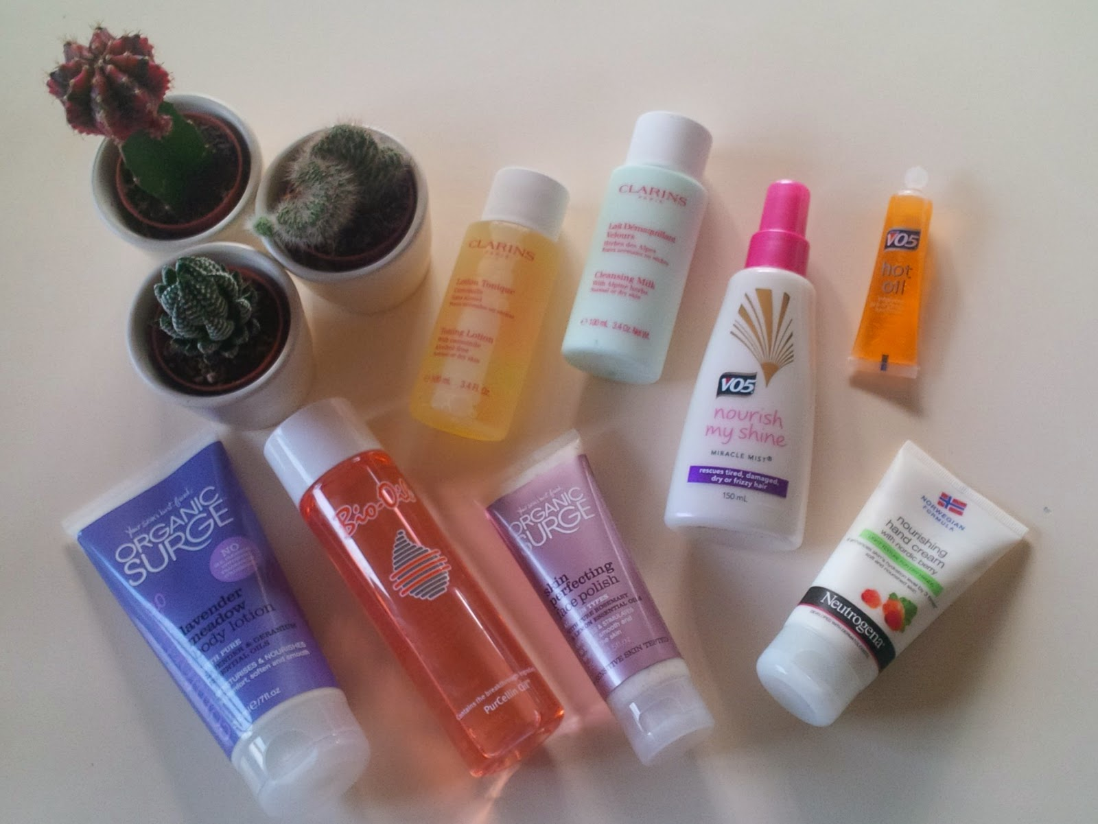My skincare and haircare products haul