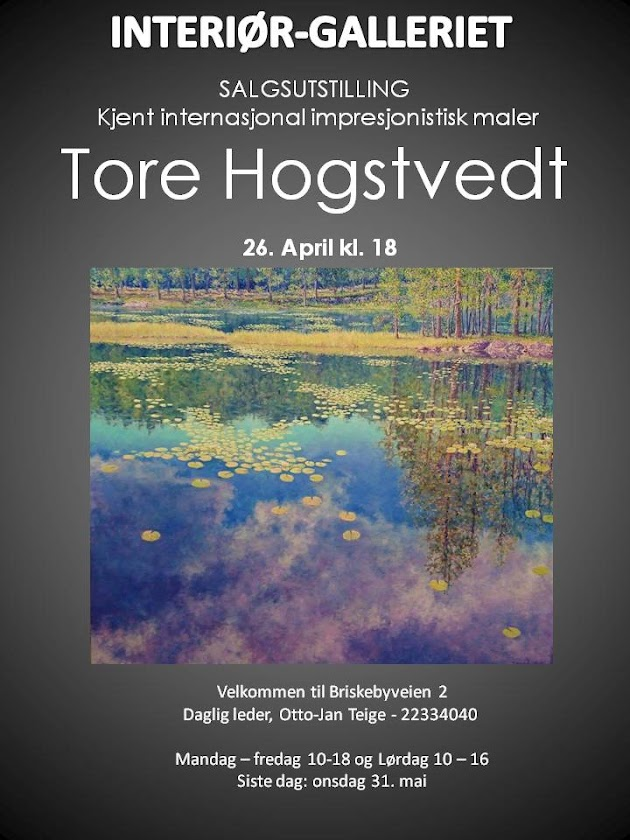 World Class Painter TORE HOGSTVEDT