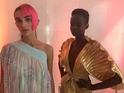 """IMG 1273 - Wednesday 19th September:  Zandra Rhodes LFW SS19 """"Wanting Again, Wanting Ahead"""""""