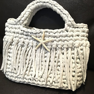 Guild by POD Tシャツヤーンのバッグの編み図