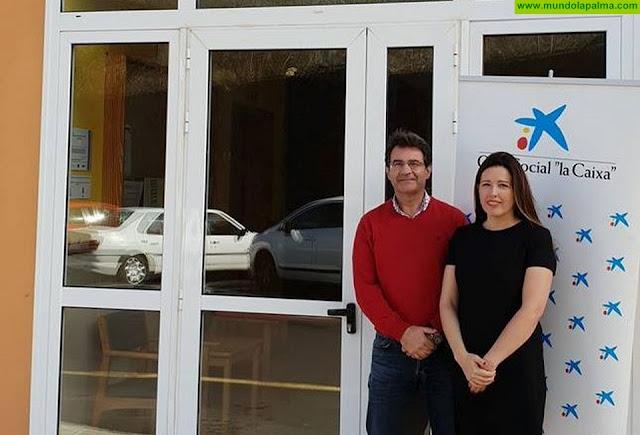 La Obra Social de La Caixa colabora con la residencia de mayores de Puntallana