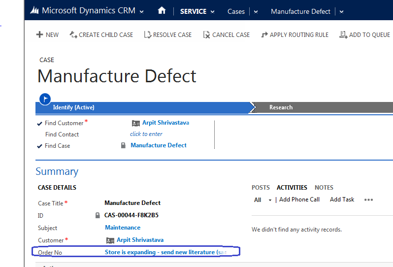 Arpit's Dynamics CRM Blog: How to change display text of a