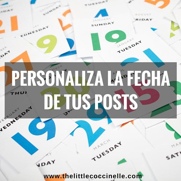 personalizar fecha post