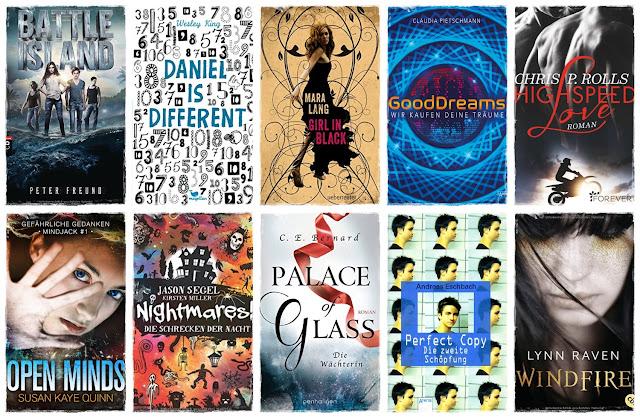 [Top Ten Thursday #38] 10 deutsche Bücher mit englischen Titeln
