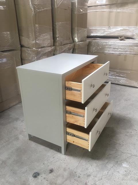 Hộc tủ 3 ngăn chất liệu gỗ thông và Ván MDF giá rẻ