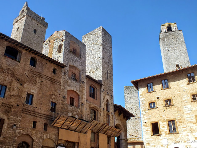 San Gimignano, torres