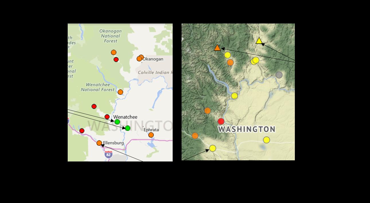 Washington Smoke Information: August 2017