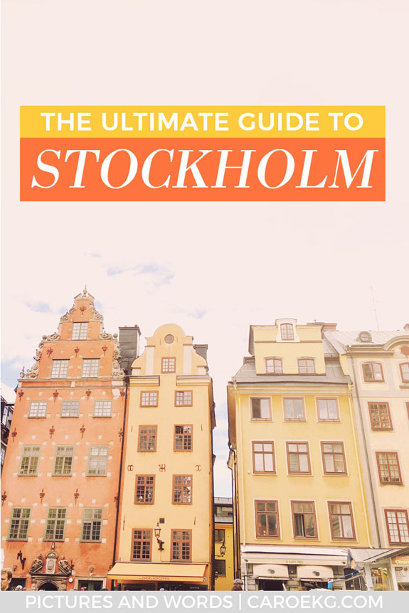 4 days in Stockholm: Looking for things to do in Stockholm? This Stockholm travel guide will give you inspiration for the best things to do in Stockholm, where to stay, what to eat, and more. A must read before planning your Stockholm trip. This Stockholm guide will help you plan the perfect itinerary! #stockholm #sweden #stockholmguide #stockholmtravel #scandinavia #stockholmitinerary