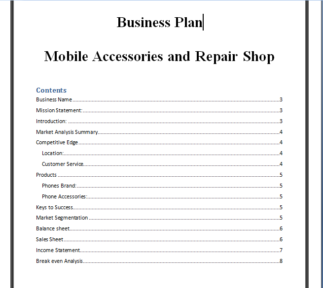 By Photo Congress || Cell Phone Accessories Business Names