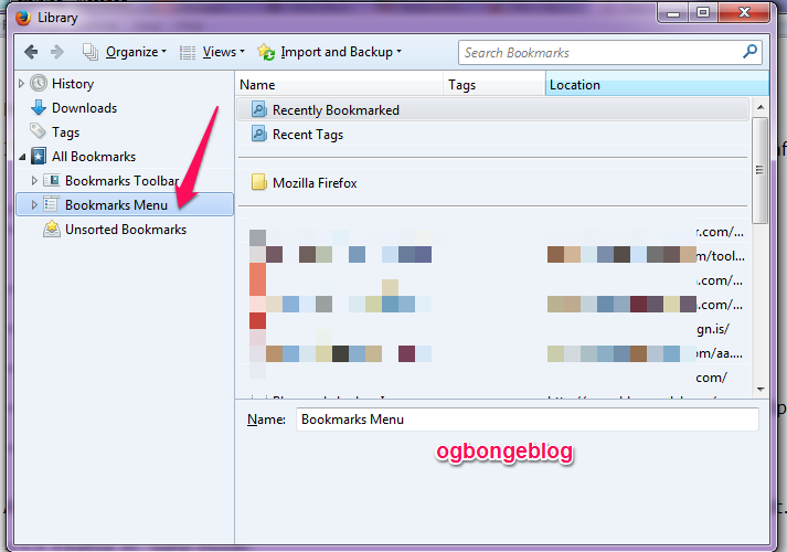 How To Delete All Firefox Bookmarks at Once – OgbongeBlog