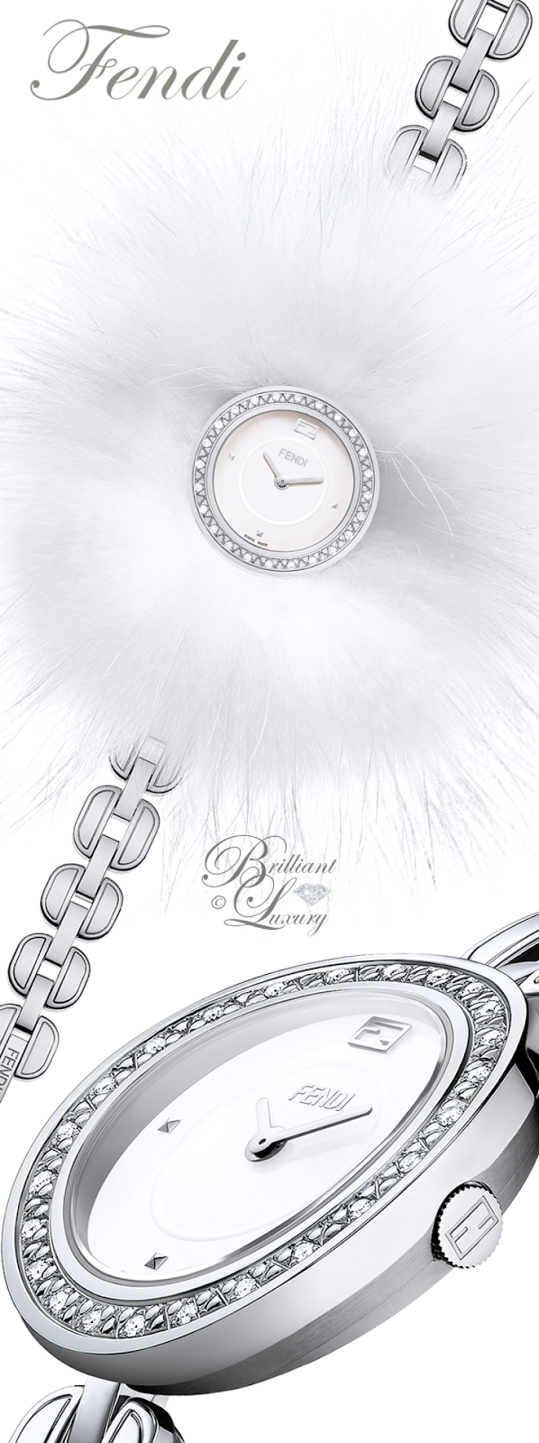Brilliant Luxury ♦ Fendi My Way Watch