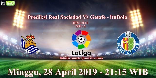 Prediksi Real Sociedad Vs Getafe - ituBola