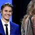 Justin Bieber arremete contra Taylor Swift en Instagram.