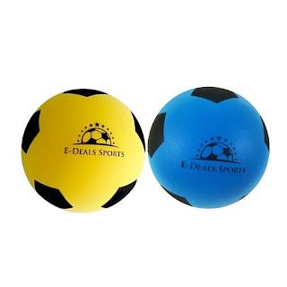 OFFER Soccer Ball 20cm sponge #football for Ages 3+ Various Colours Single Pack £6.50
