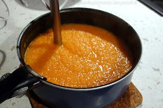 Морковный суп-пюре-приготовление