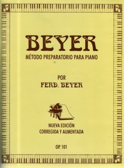 beyer metodo preparatorio para piano