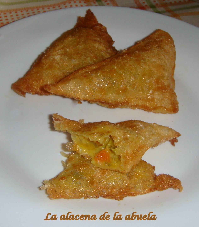 La alacena de la abuela carmen samosas for Cocina casera de la abuela