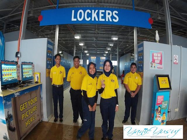 LOCKERS, Water Park Legoland Resort Malaysia