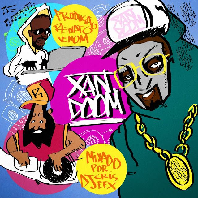 "Xandão Cruz lança a mixtape ""XANDOOM"" com instrumentais do MF DOOM e classicos do rap nacional"