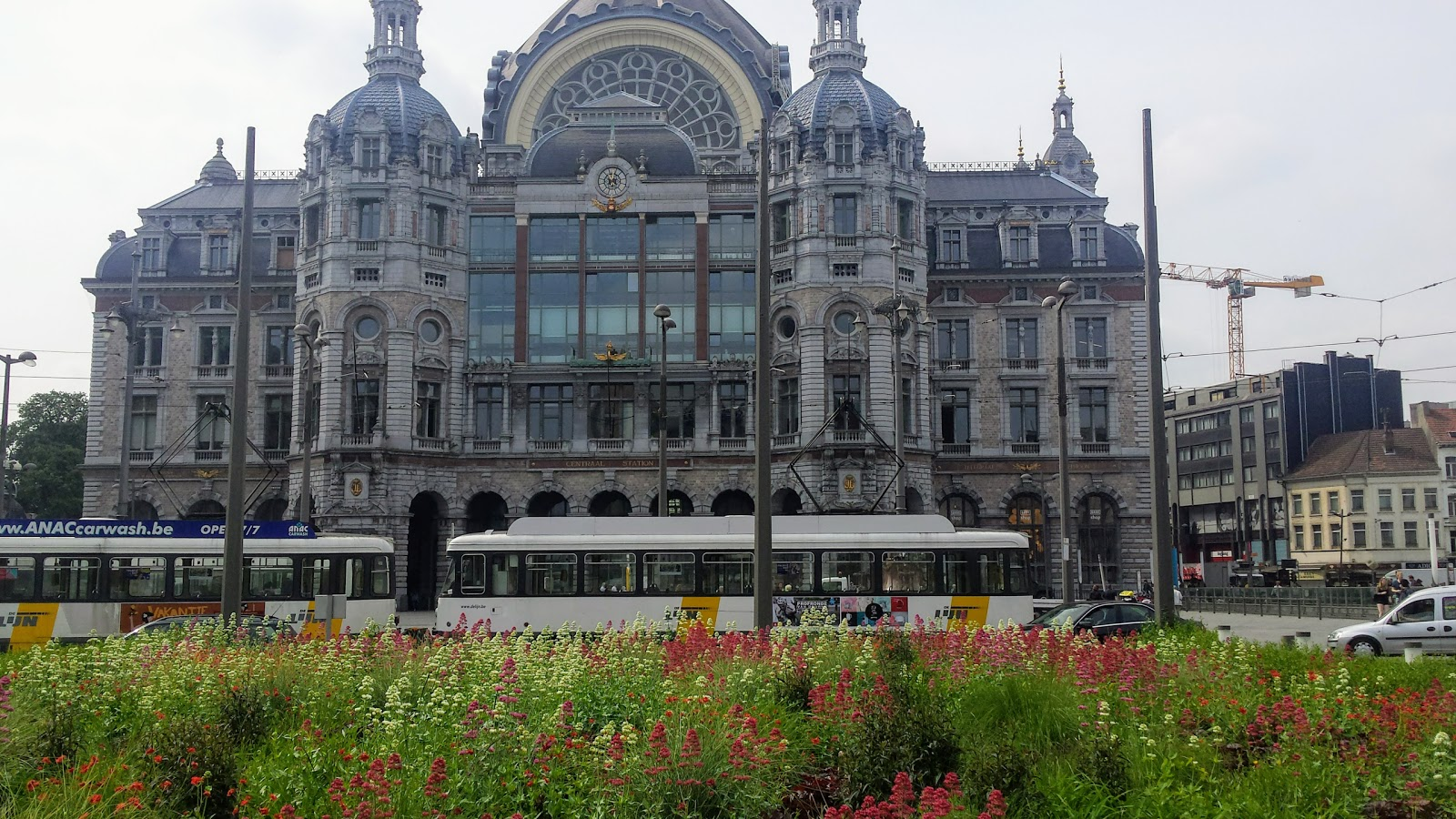The Central Station Of Antwerp